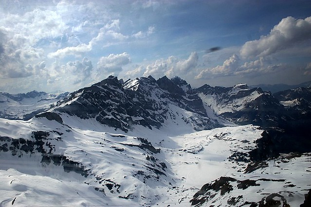 View from the Cable Car (Kleintitlis Station to Stand) - Engelberg - Switzerland