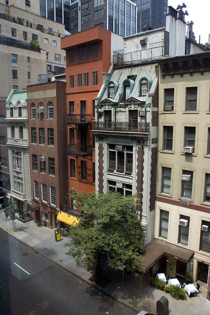 Street next to MOMA