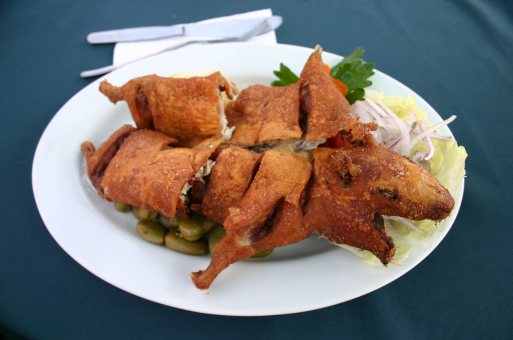 The delicious food of arequipa in peru peru for less cuy chactado arequipa peruvian cuisine forumfinder Choice Image