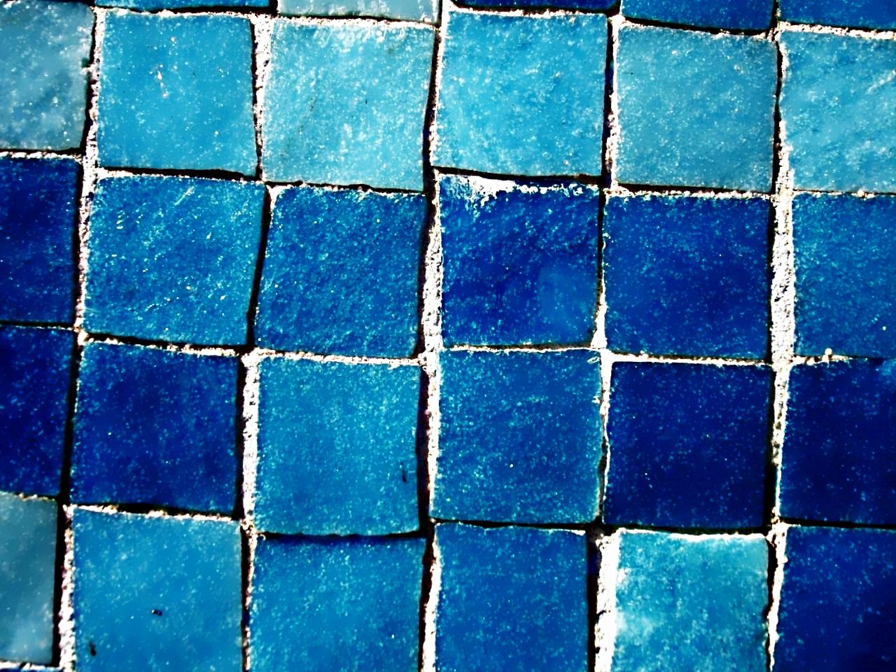 Blue Tiles Flickr Photo Sharing