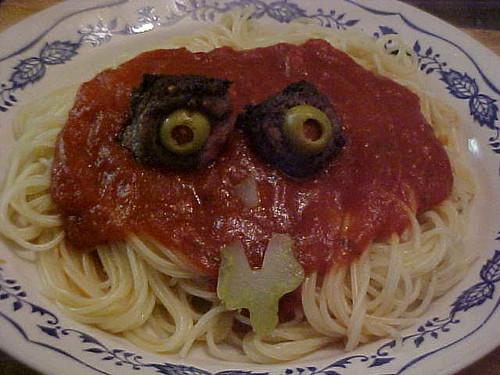 Bug-Eyed Spaghetti