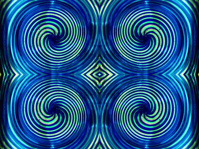 BlueGreen spirals