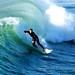 Hermosa Pier Surfer by watch4u