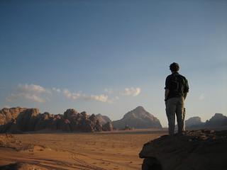 Doug at Wadi Rum