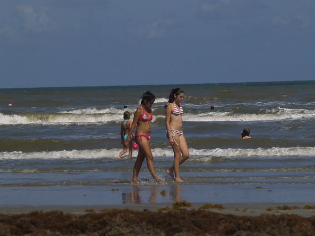 beach Galveston nude