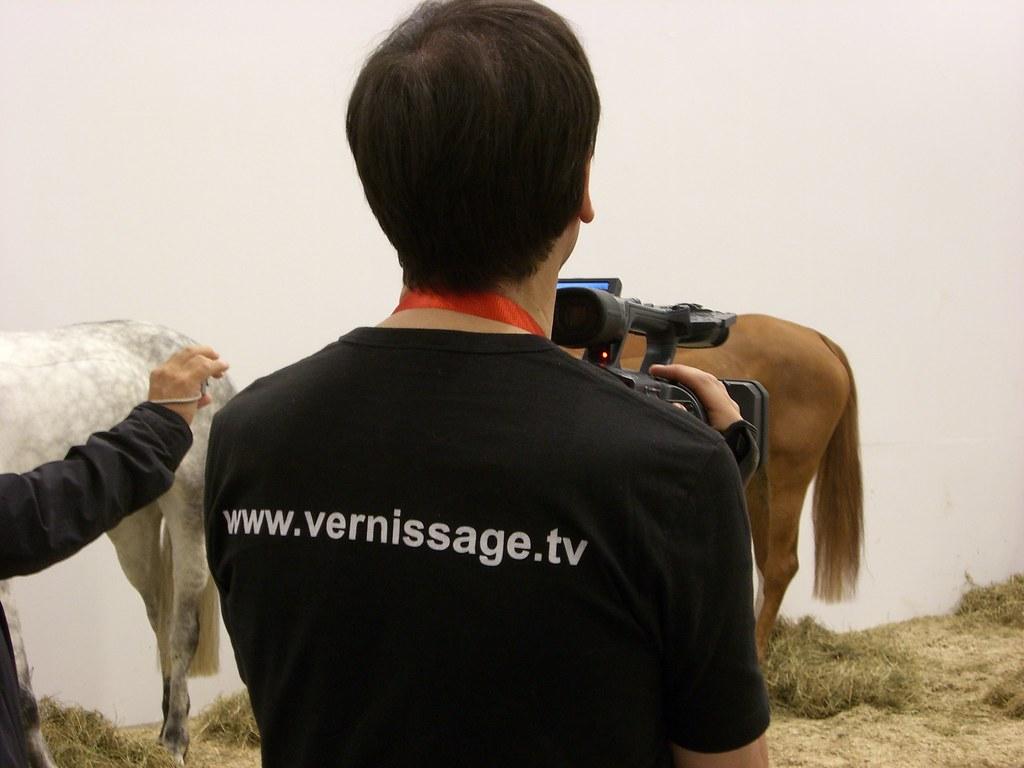 Jannis Kounellis: Untitled (12 Horses)