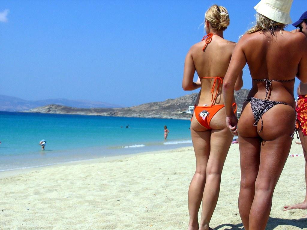 Butt On The Beach