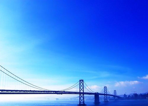bay bridge across troubled waters