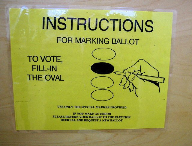 voting instructions from Flickr via Wylio