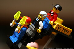 the airport crew of lego kit 7893    MG 5211
