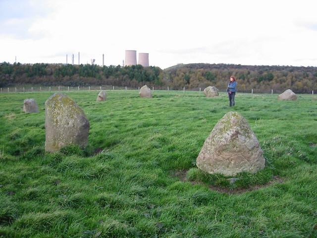 Grey Croft Stone Circle, near Seascale