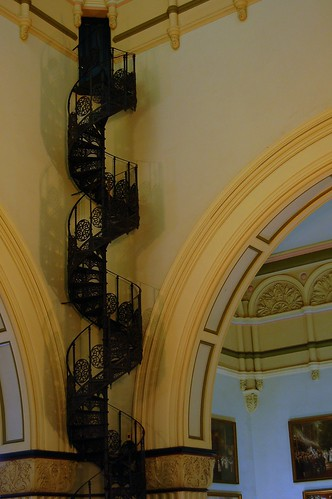 QVB - Corkscrew Stairs to Secret Door