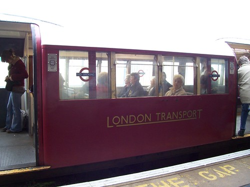 Island Line train in London Transport livery