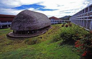 Samoa - Upolu - Traditional building