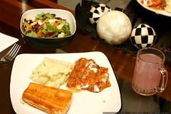 traditional thanksgiving salmon dinner    MG 6125