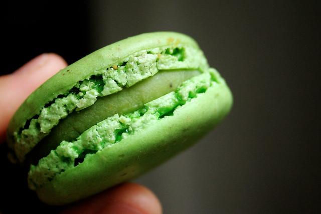 pistachio macaron   Flickr - Photo Sharing!