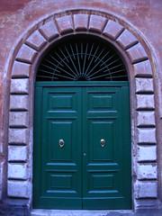 Green Door in Italy