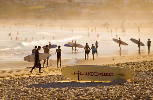 Summer at Bondi Beach