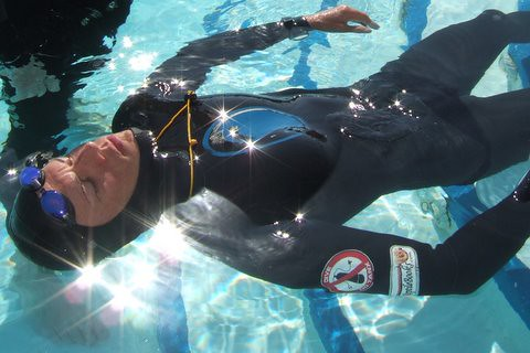 Herbert Nitsch at the Freediving Team World Championships 2006