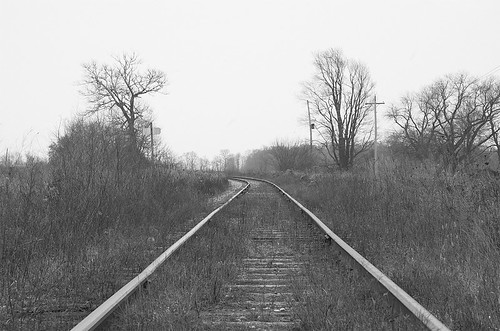 old roads home (b&w)