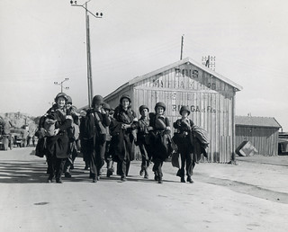 U.S. Army nurses marching (SC 172504), National Museum of Health and Medicine