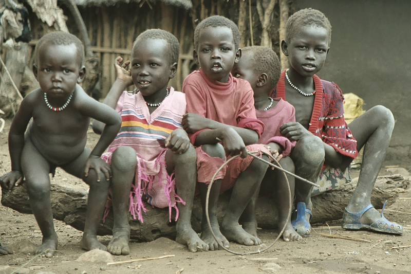 Ethiopia  Dinka  There Are Three Refugee Camps In -7518