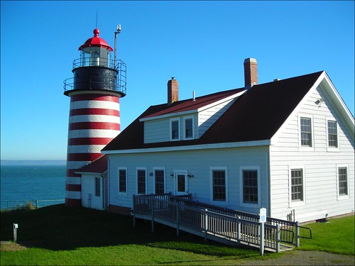 West Quoddy Head Light Station (Credit: qnr on Flickr.com)