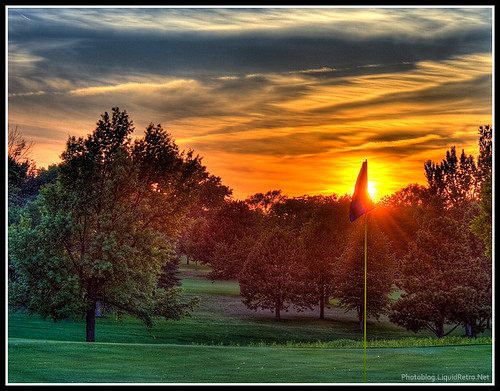 sunset 20d golf ne lincoln hdr photomatrix hillcrestcountryclub