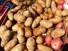 vegetable, potato, produce, food, root vegetable, tuber,