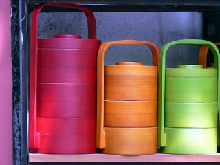 Colourful Canisters, Hanoi, Vietnam