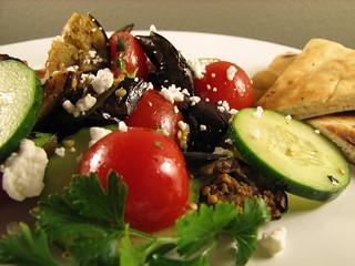 Spiced Aubergine Salad