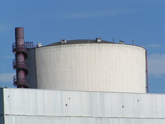 storage tank, building, wall, silo, roof, industry, cooling tower,