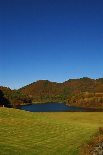 autumn colors vermont dam newengland townshend