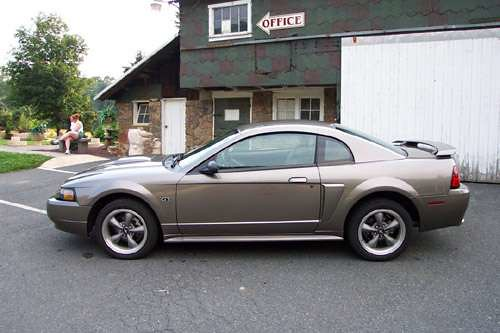 my mustang when i bought it