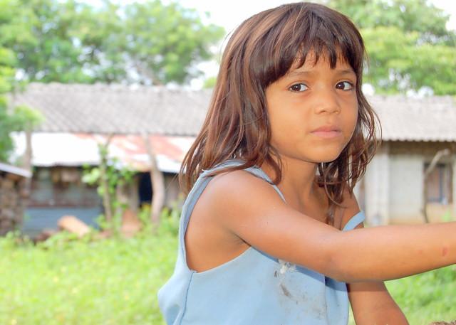 Peasant girl, el salvador