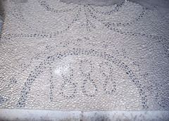 art(0.0), textile(0.0), doily(0.0), tablecloth(0.0), bed(0.0), flooring(0.0), pattern(1.0), crochet(1.0),