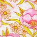 Vintage Fabric - watercolor floral