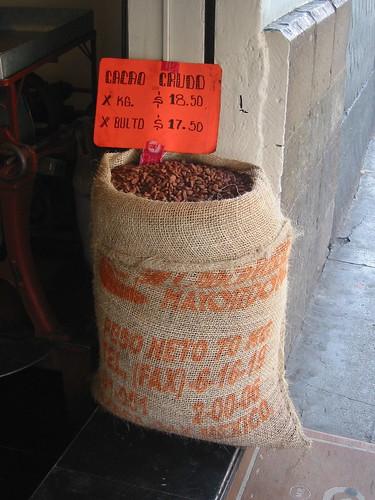 bulto de cacao