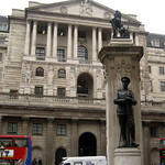UK - London - The City: Bank of England and First World War Memorial