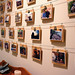 Cheap, Easy Photo Display Wall by alt text