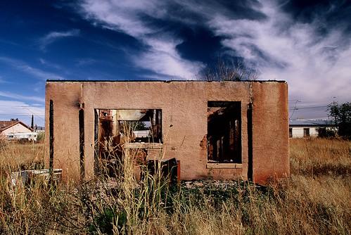 southwest abandoned nikon fuji slide slidefilm velvia 35mmfilm abandonedhouse ghosttown 100 24mm nikkor slides f5 naco abandonedbuilding fujivelvia ryanthomas nikonf5 fujivelvia100 nikkor24mm nikkor24mmf28 nacoarizona