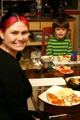 nick and rachel @ thanksgiving dinner    MG 6121