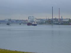 Ship on the Limfjorden
