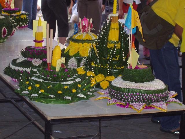Loi Krathong Festival in Thailand