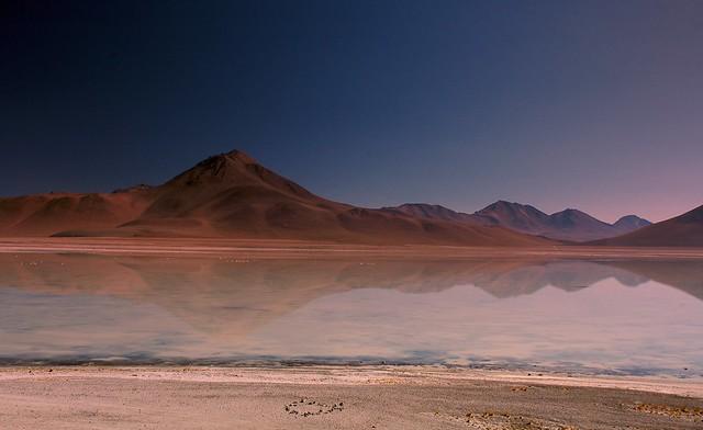 Laguna Blanca , Bolivia