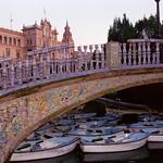 Espana Square Bridge - Sevilla, Spain