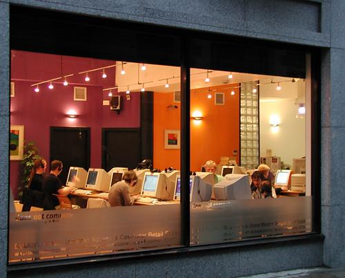 Internet Cafe, Dublin 00052