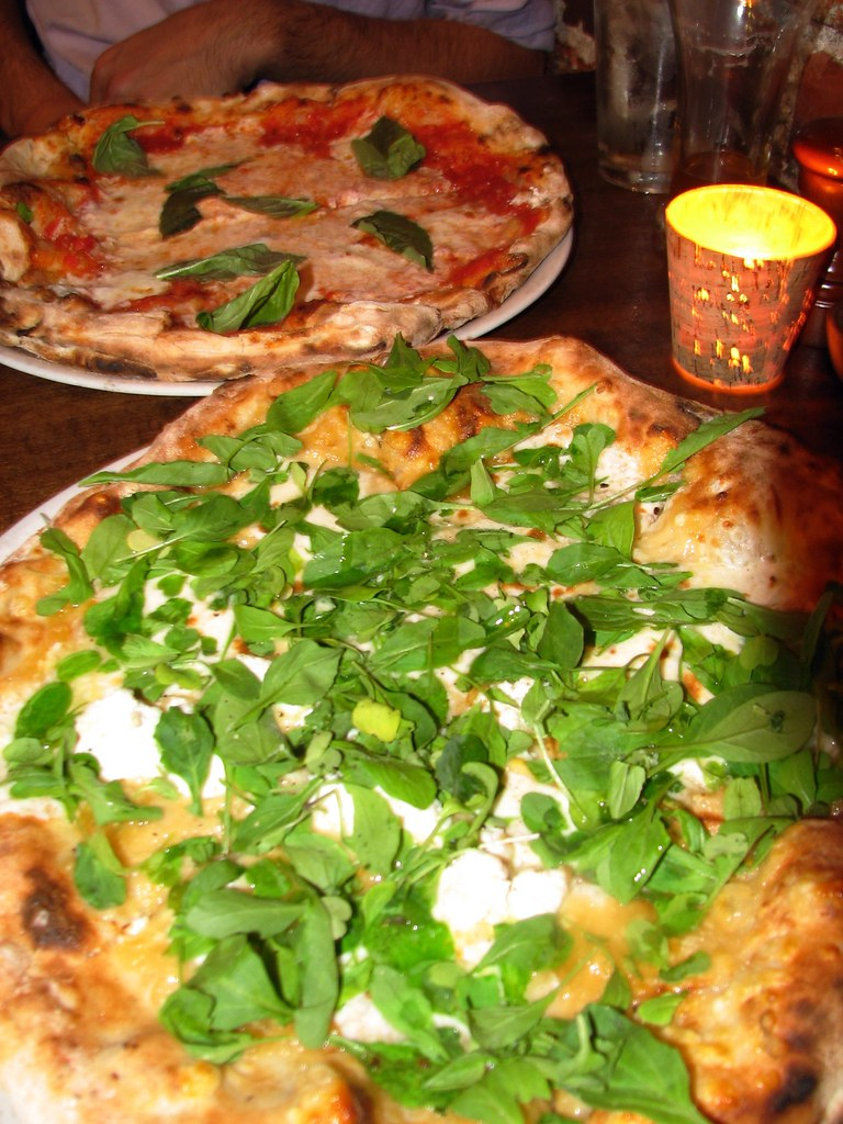dinner at Pizzeria Bianco
