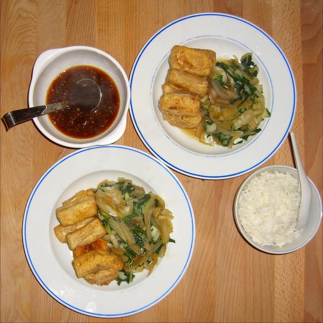 deep fried tofu squares recipes dishmaps deep fried tofu squares ...