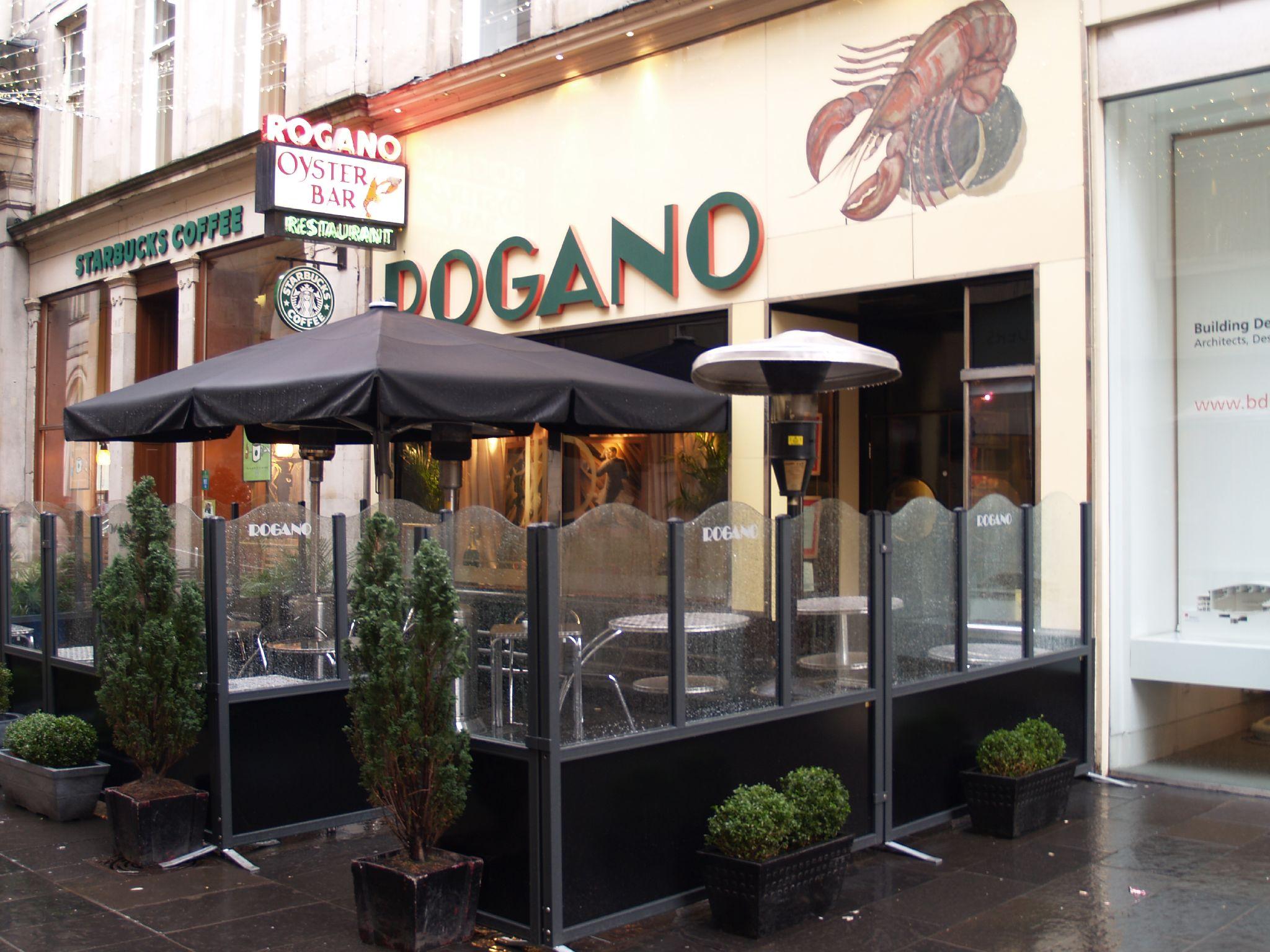 Rogano Oyster Bar Glasgow